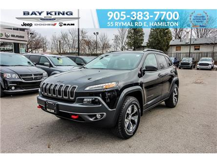 2017 Jeep Cherokee Trailhawk (Stk: 207541A) in Hamilton - Image 1 of 26
