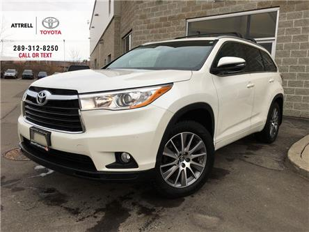 2016 Toyota Highlander LABOUR DAY SPECIAL XLE 8 PASS, LEATHER, SUNROOF, A (Stk: 46120A) in Brampton - Image 1 of 29