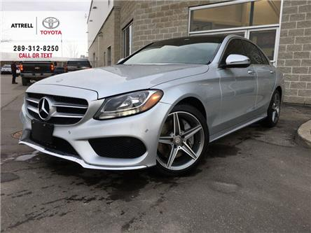 2016 Mercedes-Benz C-Class LEATHER, PANO SUNROOF, ALLOYS, NAVI, PARKING SENSO (Stk: 46182A) in Brampton - Image 1 of 26
