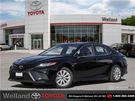 2020 Toyota Camry SE (Stk: L6962) in Welland - Image 1 of 24