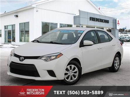 2014 Toyota Corolla LE ECO (Stk: 191337A) in Fredericton - Image 1 of 22