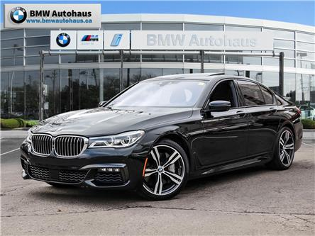 2017 BMW 750i xDrive (Stk: P9217) in Thornhill - Image 1 of 34