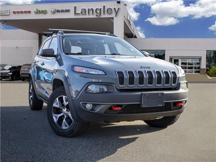 2015 Jeep Cherokee Trailhawk (Stk: K684770A) in Surrey - Image 1 of 22
