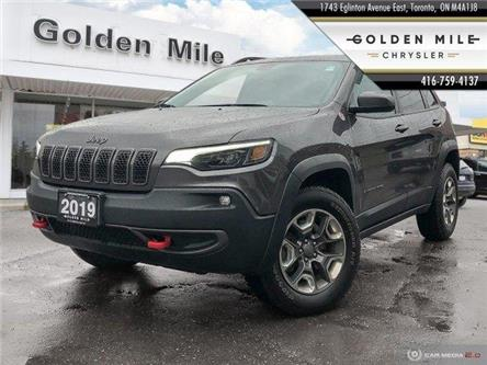 2019 Jeep Cherokee Trailhawk (Stk: P4908) in North York - Image 1 of 24