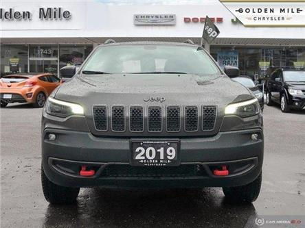 2019 Jeep Cherokee Trailhawk (Stk: P4908) in North York - Image 2 of 24