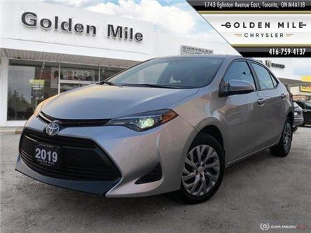 2019 Toyota Corolla LE (Stk: P4913) in North York - Image 1 of 23