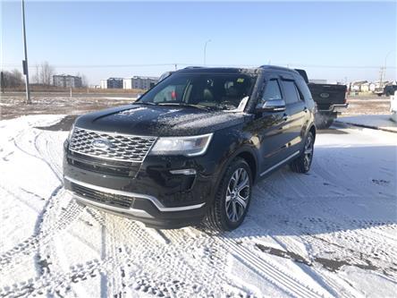 2019 Ford Explorer Platinum (Stk: LEX021A) in Ft. Saskatchewan - Image 1 of 23