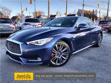 2017 Infiniti Q60 3.0t Red Sport 400 (Stk: 700244) in Ottawa - Image 1 of 26
