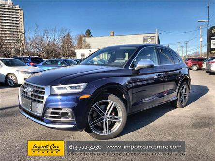 2018 Audi SQ5 3.0T Technik (Stk: 039387) in Ottawa - Image 1 of 26