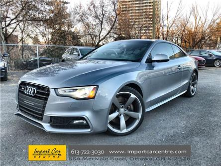 2016 Audi S5 3.0T Technik (Stk: 015236) in Ottawa - Image 1 of 26