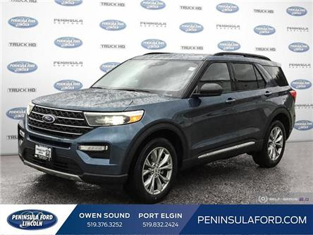 2020 Ford Explorer XLT (Stk: 20EX14) in Owen Sound - Image 1 of 26