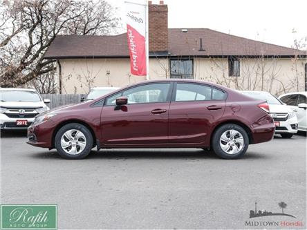 2015 Honda Civic LX (Stk: P13326) in North York - Image 2 of 25