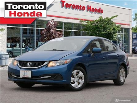 2014 Honda Civic Sedan LX (Stk: 39763A) in Toronto - Image 1 of 27