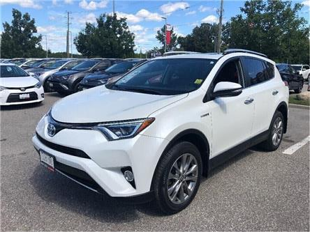 2016 Toyota RAV4 Hybrid Limited (Stk: u2711) in Vaughan - Image 1 of 18