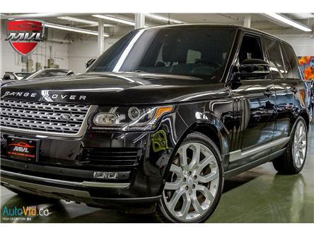 2016 Land Rover Range Rover DIESEL Td6 HSE (Stk: ) in Oakville - Image 1 of 31