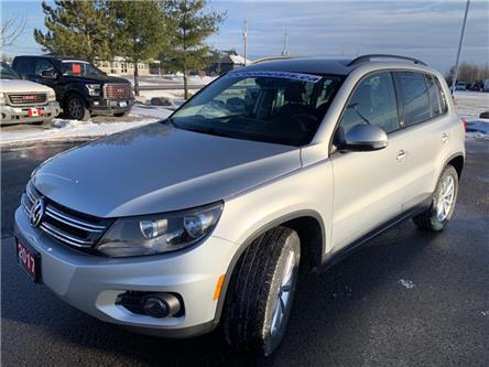 2017 Volkswagen Tiguan Wolfsburg Edition (Stk: 11120) in Carleton Place - Image 1 of 13