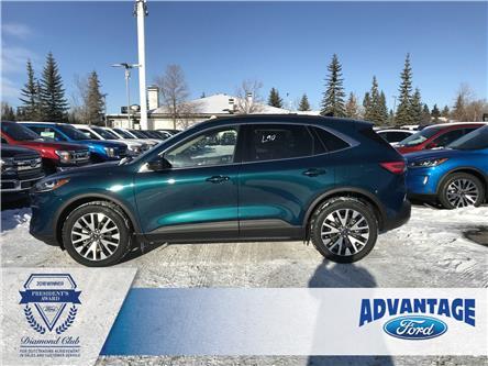 2020 Ford Escape Titanium (Stk: L-050) in Calgary - Image 2 of 6