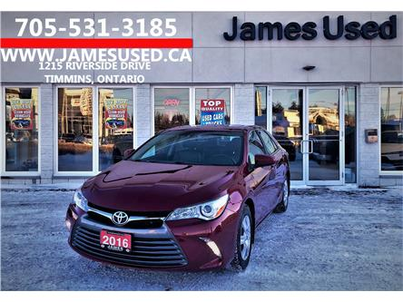 2016 Toyota Camry XLE (Stk: N19450A) in Timmins - Image 1 of 14