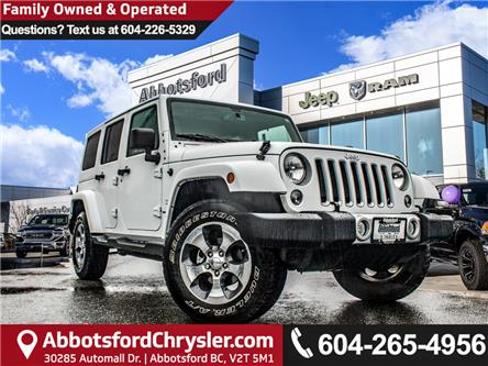 2018 Jeep Wrangler JK Unlimited Sahara (Stk: AB0952) in Abbotsford - Image 1 of 24