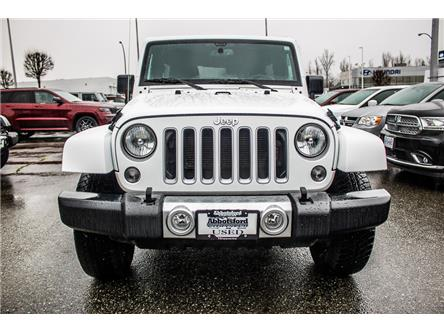 2018 Jeep Wrangler JK Unlimited Sahara (Stk: AB0952) in Abbotsford - Image 2 of 24