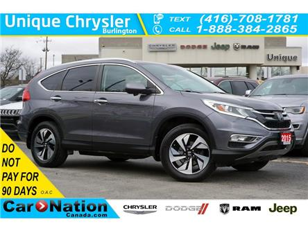 2015 Honda CR-V TOURING| AWD| NAV| LEATHER| SUNROOF| REAR CAM (Stk: K1115C) in Burlington - Image 1 of 50