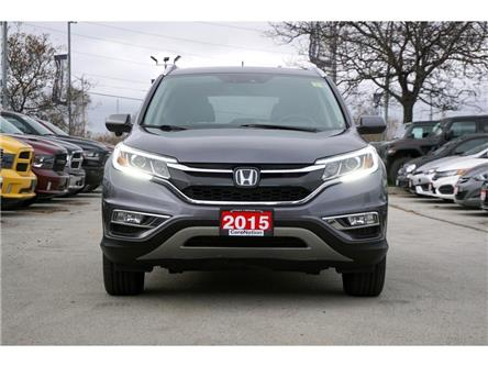 2015 Honda CR-V TOURING| AWD| NAV| LEATHER| SUNROOF| REAR CAM (Stk: K1115C) in Burlington - Image 2 of 50
