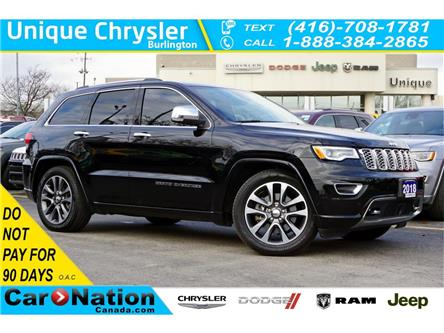 2018 Jeep Grand Cherokee OVERLAND| 4X4| ECODIESEL| ACTIVE SAFETY GRP & MORE (Stk: P3244) in Burlington - Image 1 of 48