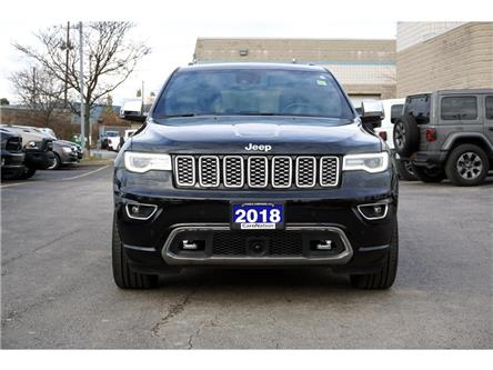 2018 Jeep Grand Cherokee OVERLAND| 4X4| ECODIESEL| ACTIVE SAFETY GRP & MORE (Stk: P3244) in Burlington - Image 2 of 48