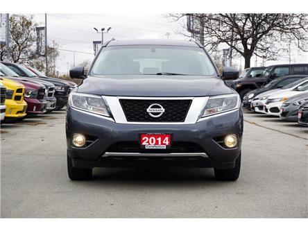2014 Nissan Pathfinder PLATINUM PREMIUM PKG| DUAL DVD| PANORAMA ROOF (Stk: L078C) in Burlington - Image 2 of 50