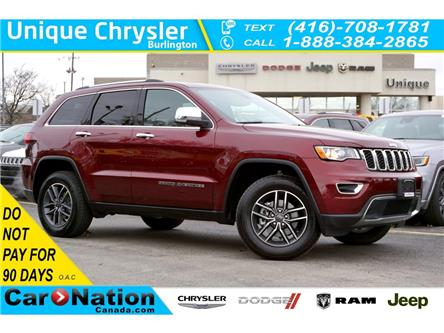 2020 Jeep Grand Cherokee LIMITED| LUXURY GROUP| TRAILER TOW GROUP & MORE (Stk: K1326A) in Burlington - Image 1 of 50