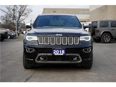 2018 Jeep Grand Cherokee OVERLAND| ACTIVE SAFETY GRP| HARMAN KARDON & MORE! (Stk: K1344A) in Burlington - Image 2 of 48