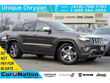 2014 Jeep Grand Cherokee OVERLAND| ADVANCED TECHNOLOGY GRP| QUADRA DRIVE II (Stk: L196A) in Burlington - Image 1 of 50