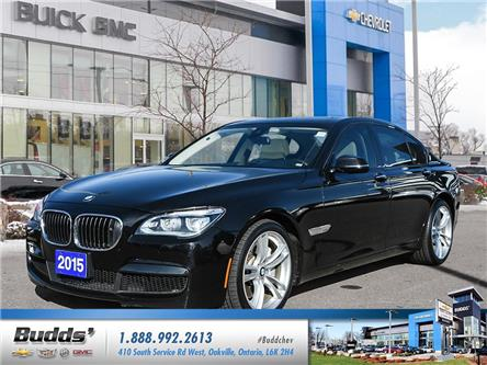 2015 BMW 750  (Stk: X60007A) in Oakville - Image 1 of 25