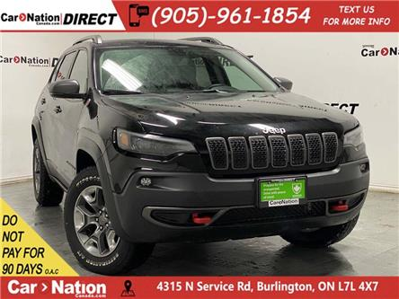 2019 Jeep Cherokee Trailhawk (Stk: DRD3016) in Burlington - Image 1 of 39