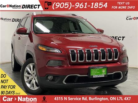 2017 Jeep Cherokee Limited (Stk: CN5885A) in Burlington - Image 1 of 39