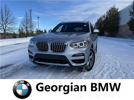 2020 BMW X3 xDrive30i (Stk: B20028) in Barrie - Image 1 of 13