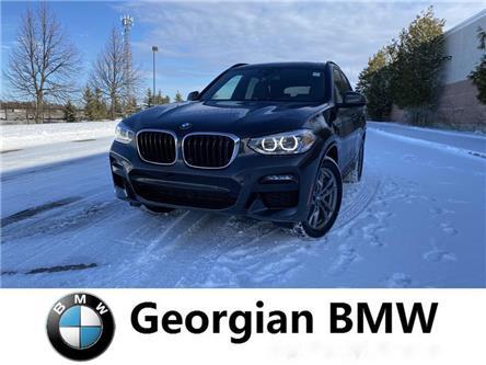 2020 BMW X3 xDrive30i (Stk: B20037) in Barrie - Image 1 of 8