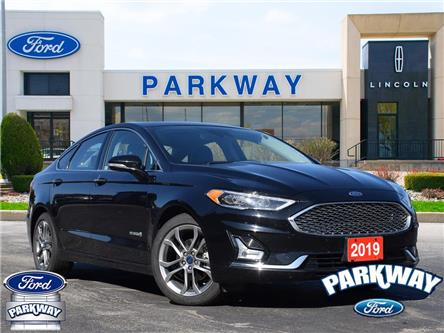 2019 Ford Fusion Hybrid Titanium (Stk: P0627) in Waterloo - Image 1 of 26