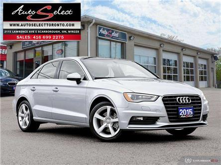 2015 Audi A3  (Stk: 15ERA32) in Scarborough - Image 1 of 28