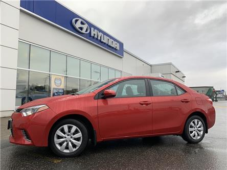 2016 Toyota Corolla LE (Stk: HA3-0679A) in Chilliwack - Image 1 of 11