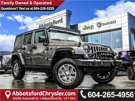2017 Jeep Wrangler Unlimited Rubicon (Stk: K758487A) in Abbotsford - Image 1 of 30