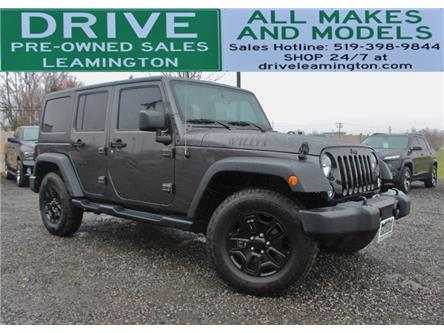 2016 Jeep Wrangler Unlimited Sport (Stk: D0216) in Leamington - Image 1 of 22