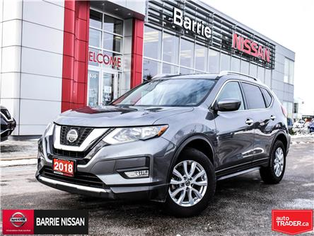 2018 Nissan Rogue SV (Stk: P4639) in Barrie - Image 1 of 28