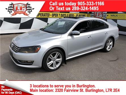 2013 Volkswagen Passat 2.0 TDI Comfortline (Stk: 48016) in Burlington - Image 1 of 16