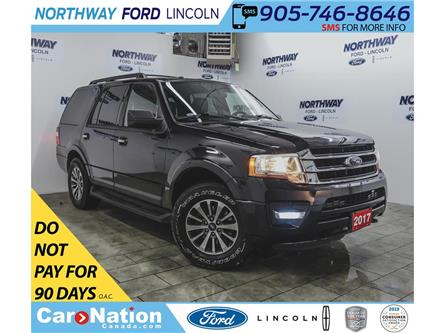 2017 Ford Expedition XLT   4x4   NAV   LEATHER   3 ROW   REMOTE START   (Stk: F193055A) in Brantford - Image 1 of 43