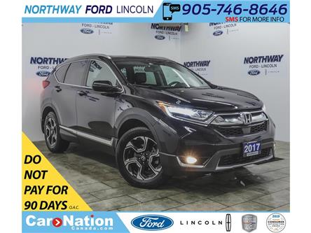 2017 Honda CR-V Touring | AWD | NAV | HTD LEATHER | PANOROOF | (Stk: P5267) in Brantford - Image 1 of 45