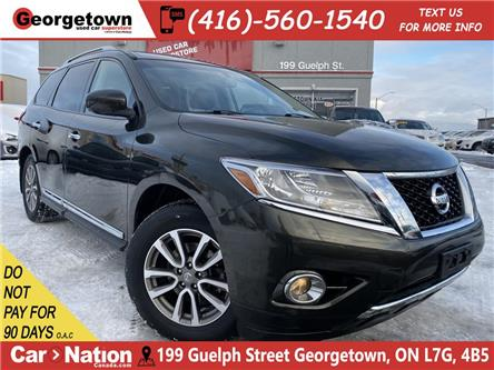 2015 Nissan Pathfinder SL | 4WD | NAVI | 360CAM | PANO ROOF | LEATHER | (Stk: P12838) in Georgetown - Image 1 of 34