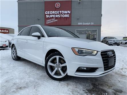 2016 Audi A3 1.8T KOMFORT | LEATHER | SUNROOF | HEATED SEATS (Stk: P12837) in Georgetown - Image 2 of 28