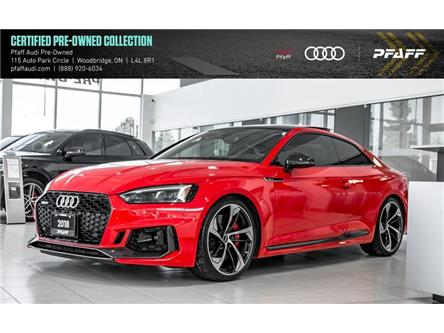 2018 Audi RS 5 2.9 (Stk: T16999A) in Woodbridge - Image 1 of 22