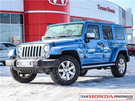 2015 Jeep Wrangler Unlimited Sahara (Stk: 3474A) in Milton - Image 1 of 23